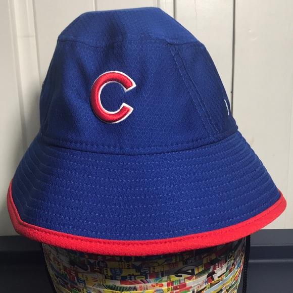 6ad77163afb Chicago Cubs New Era Bucket Hat. M 5b9c7e9203087c2e691318c5